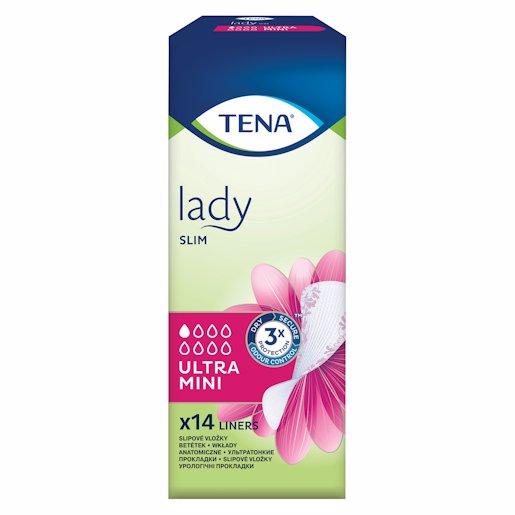 TENA LADY ULTRA MINI PADS 14'S