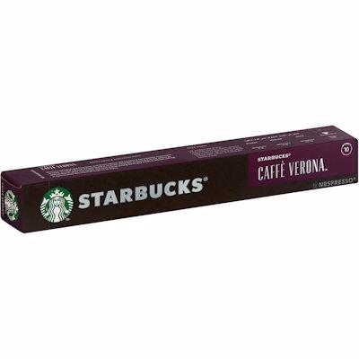 STARBUCKS CAFEE VERONA NESPRESSO CAPSULES 55GR
