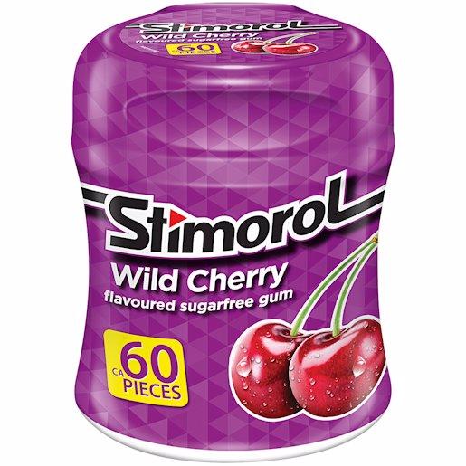 STIMOROL GUM W/CHERRY SF 84GR