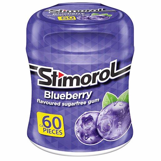 STIMOROL GUM S/F BLUEBERR 84GR
