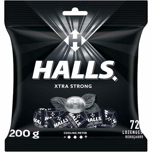 HALLS XTRA STRONG 201.6