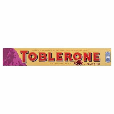 TOBLERONE FRUIT & NUT 100GR