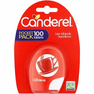 CANDEREL SWEETENER TABLETS 100'S