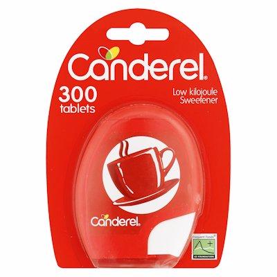 CANDEREL SWEETENER TABLETS 300'S