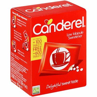 CANDEREL RED 500 +100 VAP 1'S