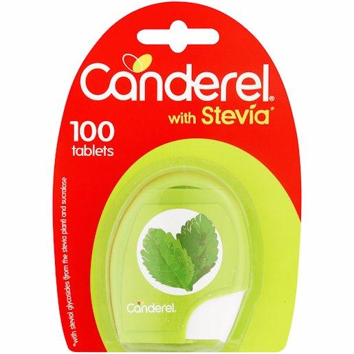 CANDEREL STEVIA LOW KILO 100'S
