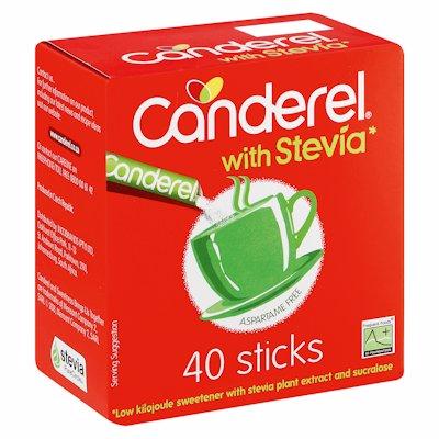 CANDEREL STEVIA STICKS 40'S