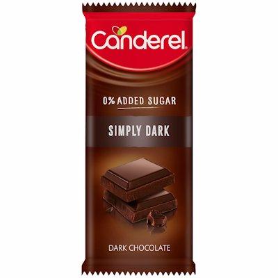 CANDEREL SLAB SIMPLY DARK 100G