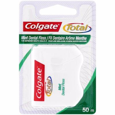 COLGATE DENTAL FLOSS MINT 50M