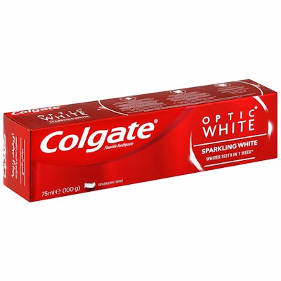 COLGATE T/PASTE OPTIC WHT 75ML
