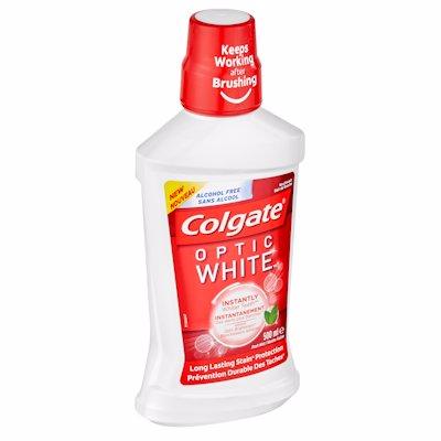 COLGATE M/WASH OPTIC WHT 500ML