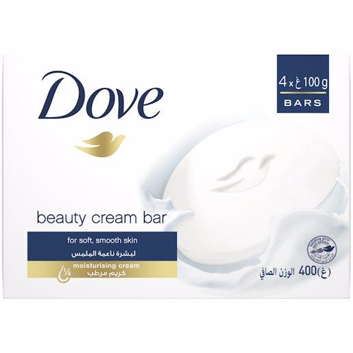 DOVE SOAP WHITE 4PK 400GR