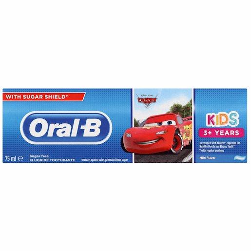 ORAL B T/P FROZEN & CARS 75ML
