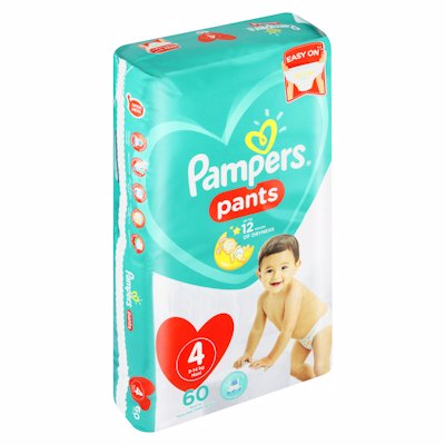 PAMPERS PANTS JP MAXI 60'S