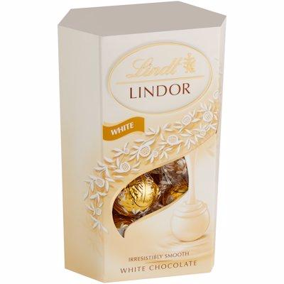 LINDT LINDOR CORNET WHITE 200GR