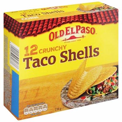 EL PASO TACO SHELLS 156GR