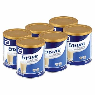 ENSURE NUTRITIONAL SUPPLEMENT VANILLA 400GR