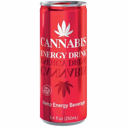 CANNABIS ENERGY HEMP RASP 250ML