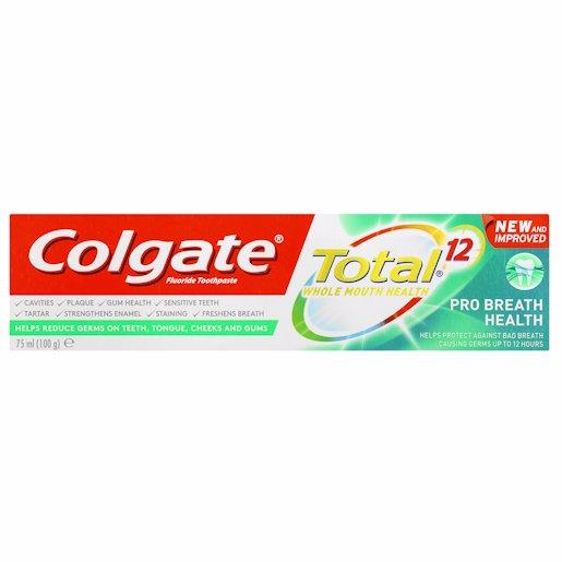 COLGATE T/P TOT CLN BREAT 75ML