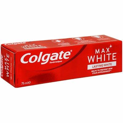 COLGATE TOOTHPASTE MAX WHITE LASTING WHITE 75ML