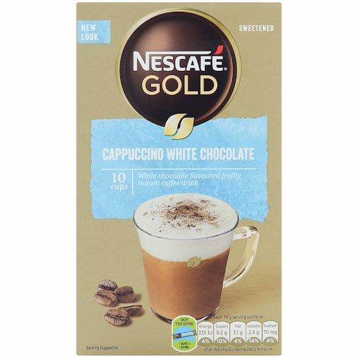 NESCAFE CAPPUCCINO STICK WHITE 10'S