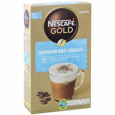 NESCAFE CAPPUCCINO WHITE CHOCOLATE STICKS 10'S