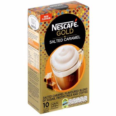 NESCAFE GOLD SALTED CARAMEL 10'S