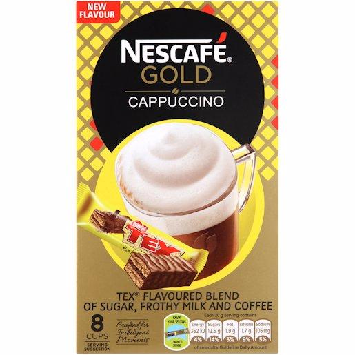 NESCAFE CAPP 1/COFF TEX 8'S
