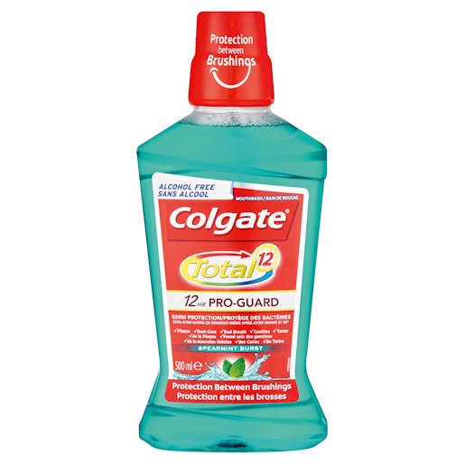 COLGATE M/RINSE SPMINT 500ML