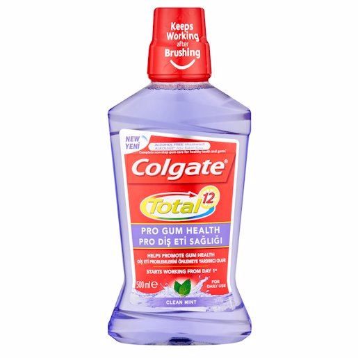 COLGATE M/WASH TOT PR/GUM 500ML