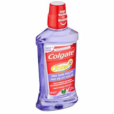 COLGATE MOTHWASH TOTAL 12HR PRO GUM HEALTH 500ML