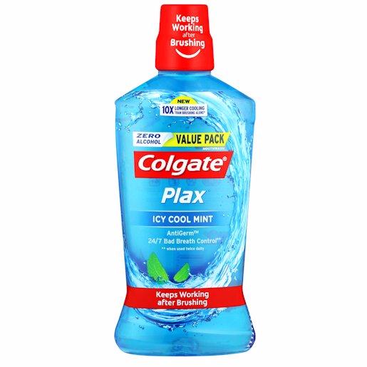 COLGATE PLAX ICY COOL MIN 750ML