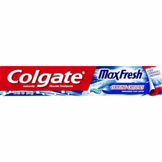COLGATE T/PASTE MAX COOL 75ML
