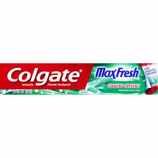 COLGATE T/PASTE MAX CLEAN 75ML