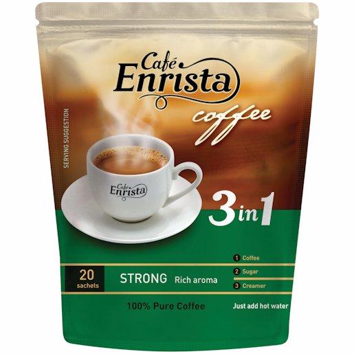 ENRISTA COFFEE STRONG 20'S 400G
