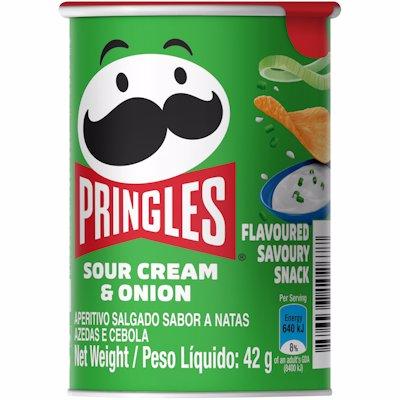 PRINGLES SOUR CRM & ONION 42GR