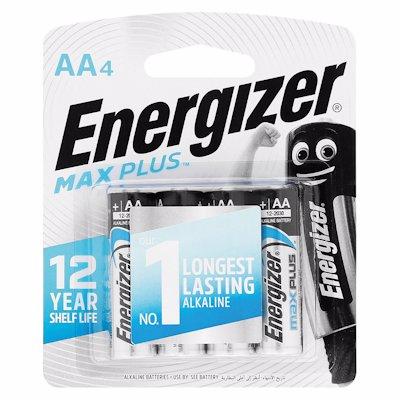 ENERGIZER MAXPLUS AA 4'S