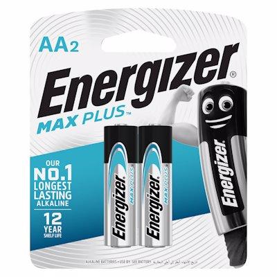 ENERGIZER MAX PLUS AA BATTERIES 2'S
