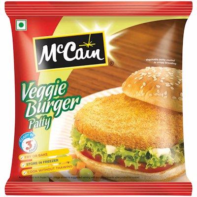 MCCAIN VEGGIE BURGER PATTY 360G