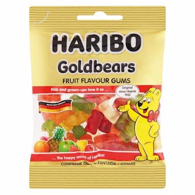 HARIBO GOLDBEARS JELLIES 80G