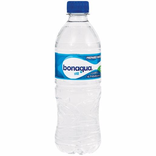 BON AQUA SP/WATER STILL 500ML